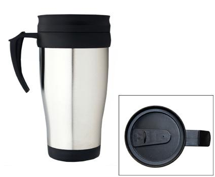 M 07  Promotional Stainless Steel  Insulated Travel Mug