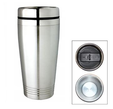 M 12  Stainless Steel Promotional Travel Mug