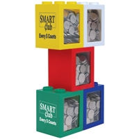 LL262s Stackabox Promotional Money Boxes