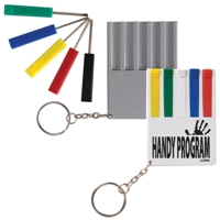 LL2344s 5 Piece Screwdriver Set with keychain fitting