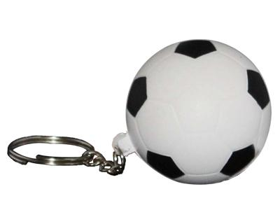 S33 Anti-Stress Toy Soccer Ball Keyring