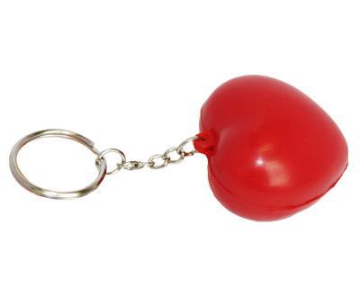 S35 Anti-Stress Toy Heart Keyring