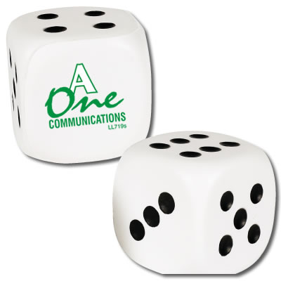 Z719s Anti-Stress White Dice