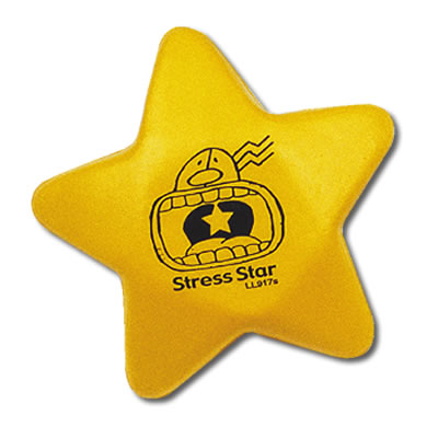 S38 Anti-Stress Yellow Star