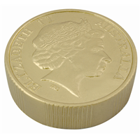 S110 Anti Stress Gold Coin