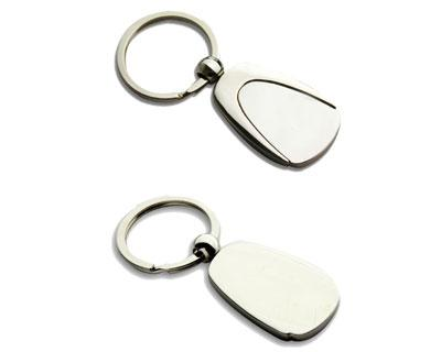 K30  Metal Promotional Keyrings Opener - Engraved