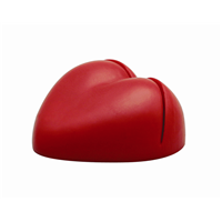 SS031 anti stress heart paper holder