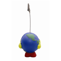 S129 Anti Stress Earth Ball Note Holder