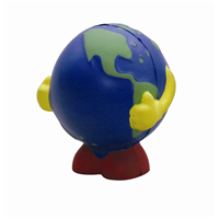 SS005 Anti Stress Standing Earth Ball