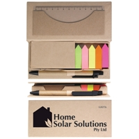 LL8273s Recycled Note Holder Set with Pens