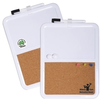 LL1970s Magnetic Corkboard/Whiteboard with Marker