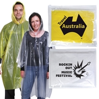 LL1800s Reusable Polythene Poncho in PVC Pouch