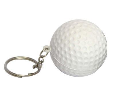 S30 Anti-Stress Toy Golf Ball Keyring.