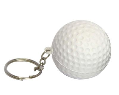S30 Anti-Stress Toy Golf Ball Keyring.