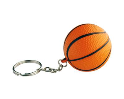 S31 Anti-Stress Toy Basket Ball Keyring.