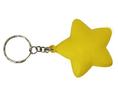 S36 Anti-Stress Toy Star Keyring.