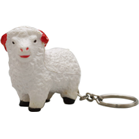 S84 Anti-Stress Sheep Keyring.