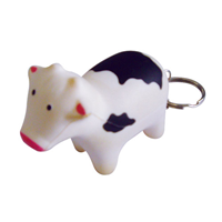 S87 Anti-Stress Cow Keyring.