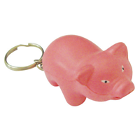 S88 Anti-Stress Pig Keyring.