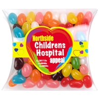 LL4846s Promotional Confectionery Assorted Jelly Beans in Pillow Packs