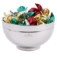 LL8402s Promotional Confectionery Toffees in Stainless Steel Bowls