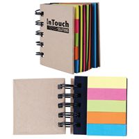 LL8829s Spiral Notebook with Noteflags