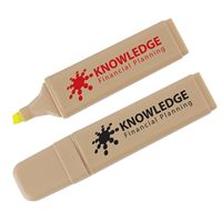 LL4245s Recycled Yellow Promotional Highlighter.