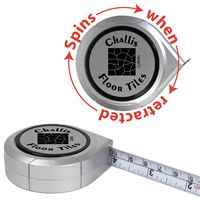 LL866s Spinning Logo Tape Measure