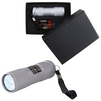 LL11009s The Tube Silver Aluminium LED Torch