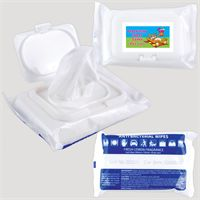 LL4659s Anti Bacterial Wipes In Pouch