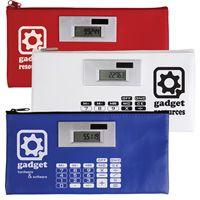 LL3566s Calculator Pencil Case With Zipper