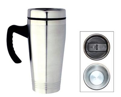 M 10 Promotional Stainless Steel Travel Mug..