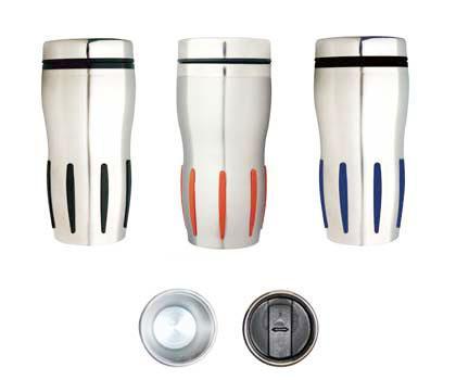 M 13 Premium  Stainless Steel Promotional Travel Mug..