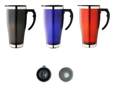 M 22 Deluxe Stainless Steel Promotional Travel Mug