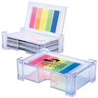 LL0759s Crystal Business Card Holder