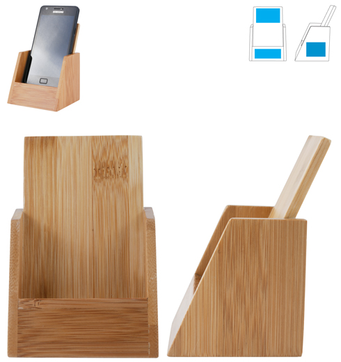 LL1111s Bamboo Phone Holder