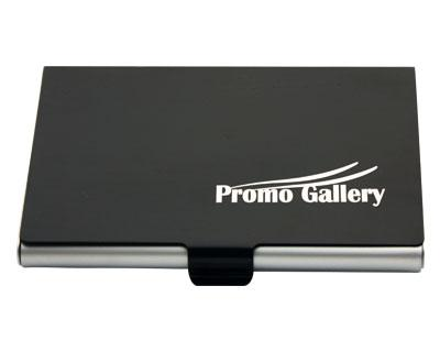 BH01 Aluminium Business Card Holder Black