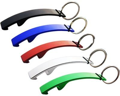 K54 Promotional Large Bottle Opener Keyring - Engraved