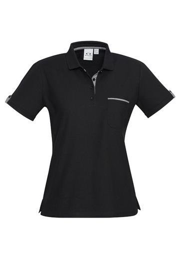 P305  Ladies Edge Polo Shirts