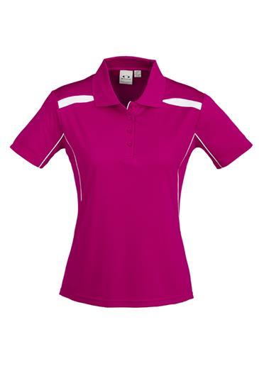 P244  Ladies United Polo Shirts