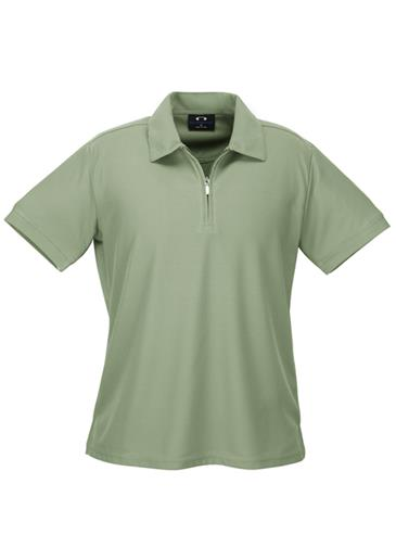 P3325  Ladies Micro Waffle Polo Shirts