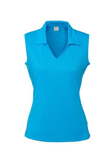 P10923  Ladies Sleeveless Polo Shirts