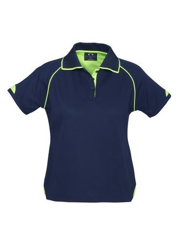 P29022  Ladies Fusion Polo Shirts